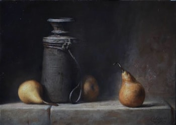 Still Life with Pears by Daniel Graves
