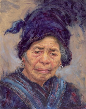 Chinese Grandmother  by Carol Lee Thompson