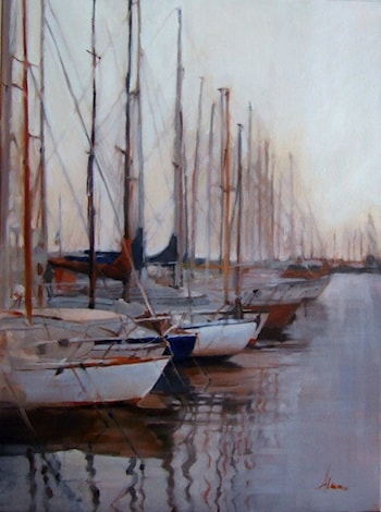 Morning Ready to Sail by Alana Knuff