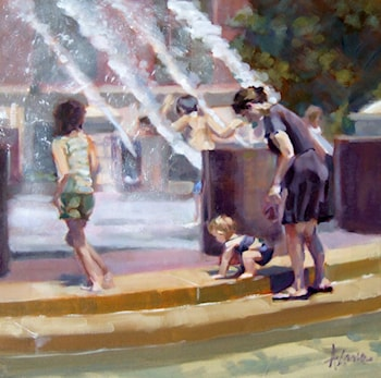 First Fountain by Alana Knuff