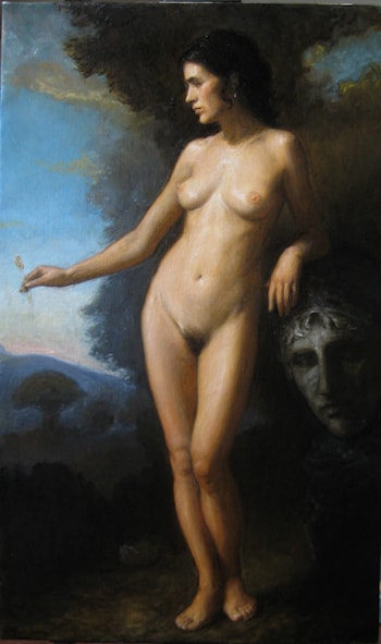 Allegory: Persephone by Matthew James Collins