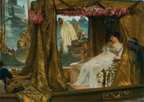 Anthony and Cleopatra by Sir Lawrence Alma Tadema