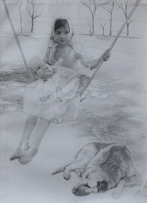 The Girl on the Swing