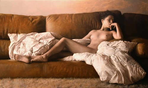 Reclining Nude - P Series (2)