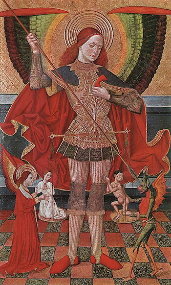 The Archangel Michael by Juan de la Abadia