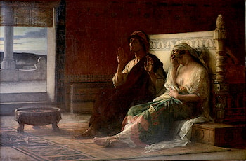The Story Teller by Alexandre Cabanel