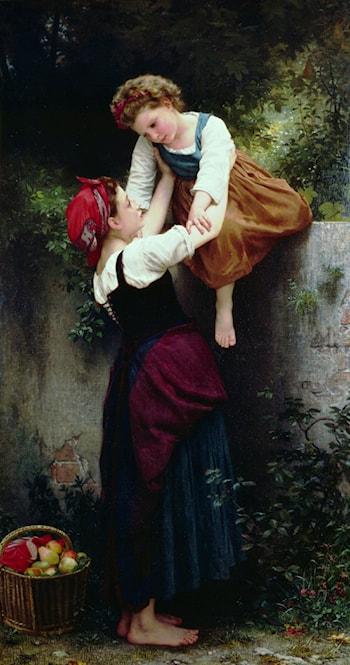 Petites Maraudeuses by William Adolphe Bouguereau