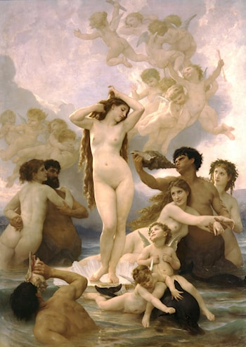 Naissance de Venus by William Adolphe Bouguereau