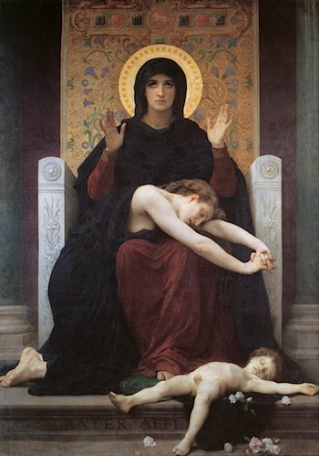 Vierge Consolatrice by William Adolphe Bouguereau
