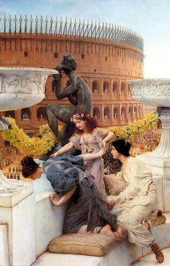 The Colosseum by Lawrence Alma-Tadema