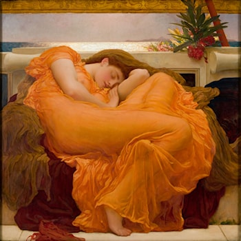 Flaming June by Lord Frederick Leighton