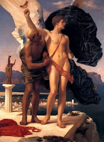 Daedalus and Icarus by Lord Frederick Leighton