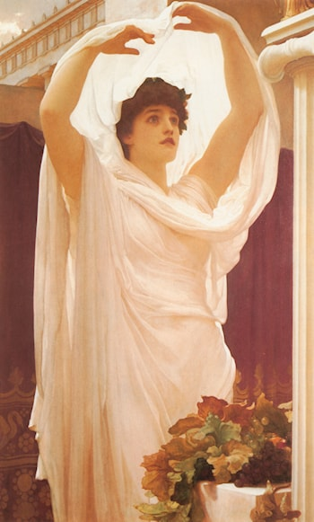 An Invocation by Lord Frederick Leighton