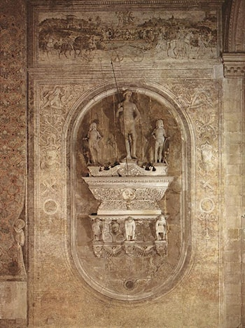 Monument to Jacopo Marcello by Pietro Lombardo