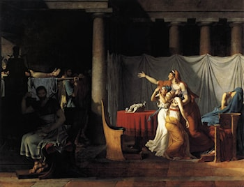 The Lictors Returning to Brutus the Bodies of his Sons by Jacques-Louis David