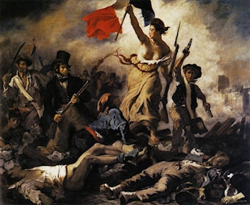 Liberty Leading the People (28th July 1830) by Eugene Delacroix