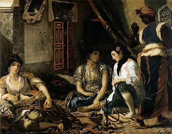 The Women of Algiers by Eugene Delacroix