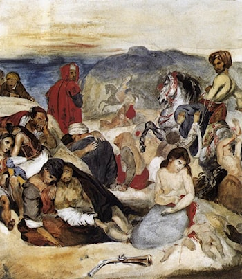 The Massacre of Chios by Eugene Delacroix