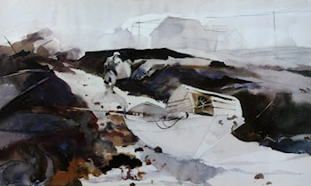 The White Dory by Andrew Wyeth