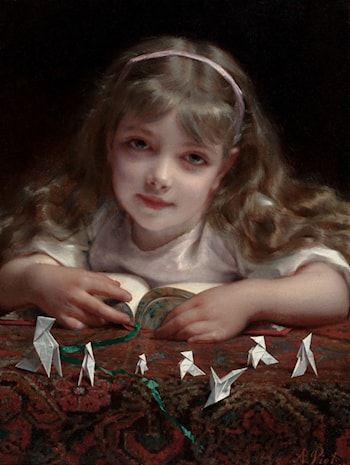 Origami Dreams by Etienne Adolphe Piot