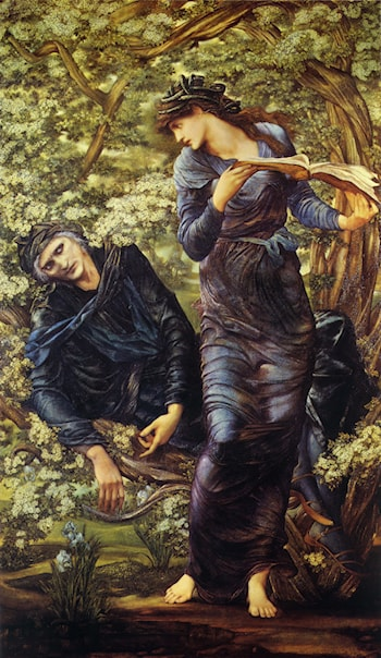 The Beguiling of Merlin by Edward Burne-Jones