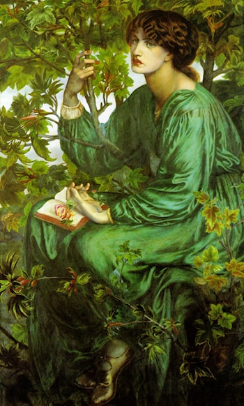 The Day Dream by Dante Gabriel Rossetti