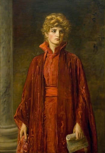 Portia by John Everett Millais