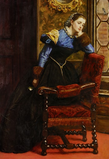 Swallow, Swallow by John Everett Millais