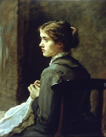 Stitch! Stitch! Stitch! by John Everett Millais