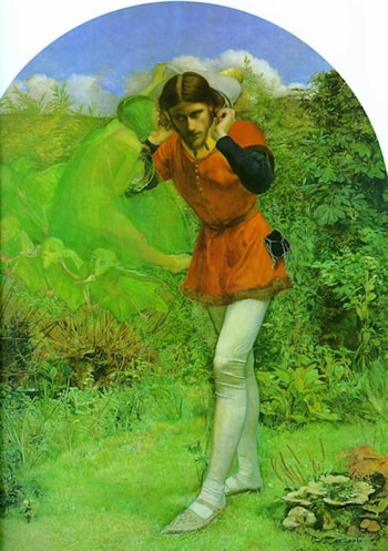 Ferdinand Lured by Ariel by John Everett Millais