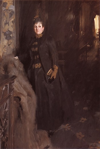 Madame Clara Rikoff by Anders Zorn