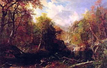 The Emerald Pool by Albert Bierstadt