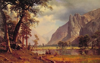 Yosemite Valley by Albert Bierstadt