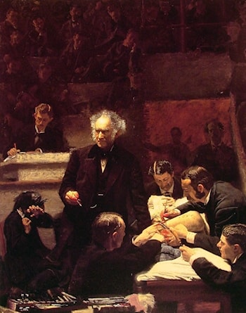 The Gross Clinic by Thomas Eakins