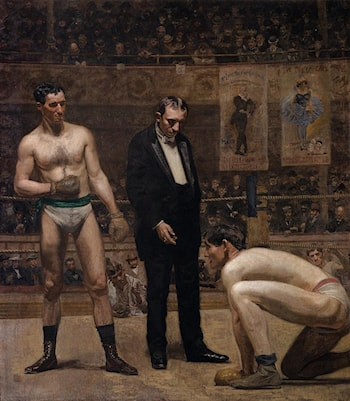 Taking the Count by Thomas Eakins