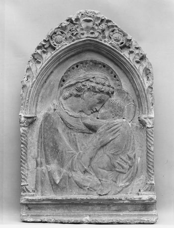 Virgin and Child by Donatello