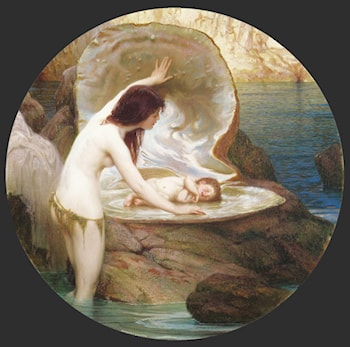 A Water Baby by Herbert James Draper