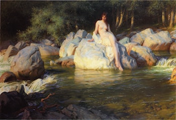 The Kelpie by Herbert James Draper