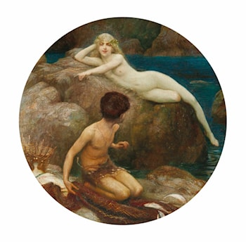 The Naiad's Pool by Herbert James Draper