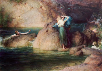 Halcyone by Herbert James Draper