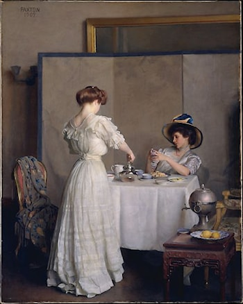 Tea Leaves by William McGregor Paxton