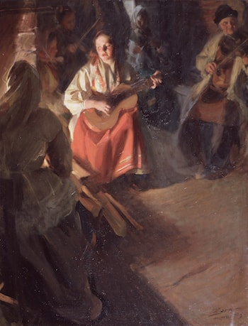 A Musical Family by Anders Zorn