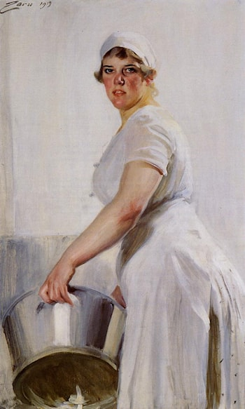 Cook by Anders Zorn