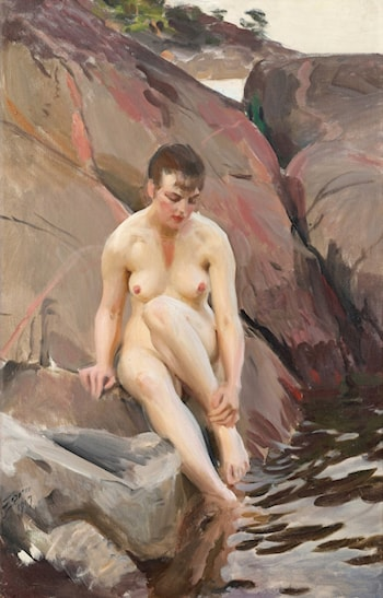 Mar by Anders Zorn