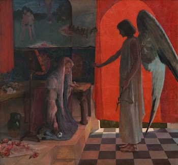 Annunciation by Rupert Charles Wulsten Bunny