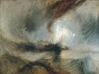Snow Storm: Steam-Boat off a Harbour's Mouth by Joseph Mallord William Turner