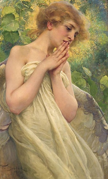 In Contemplation by Franz Dvorak