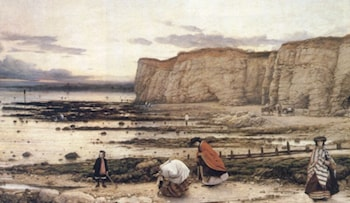 Recollection of Pegwell Bay by William Dyce