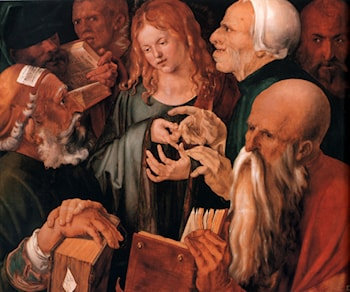 Christ among the Doctors by Albrecht Durer