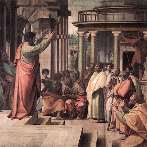 Raphael | St Paul Preaching in Athens